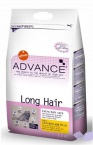 ADVANCE Cat Long Hair 400гр*8шт