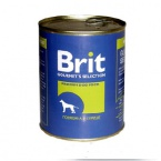 Brit Beef & Heart 850гр*8шт