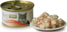 Brit Care Cat Chicken Breast 80гр*48шт