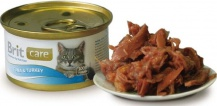 Brit Care Cat Tuna Turkey 80гр*48шт