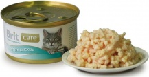 Brit Care Kitten Chicken 80гр*48шт