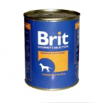 Brit Red Meat & Liver 850гр*8шт